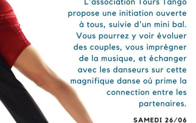 """Affiche """"Osez le Tango"""" de l'Association Tours Tango"""