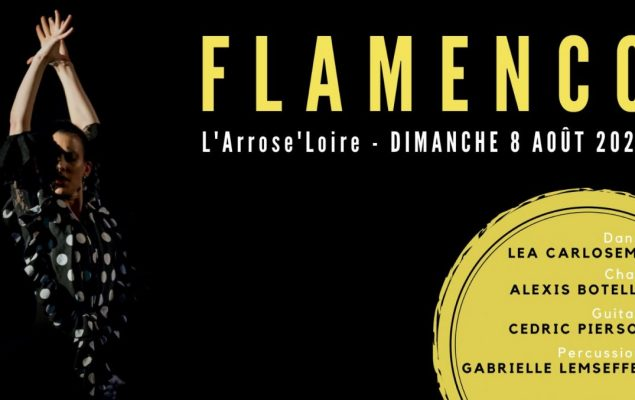 Affiche présentant une danseuse de Flamenco