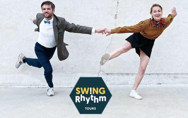 Deux danseurs de swing